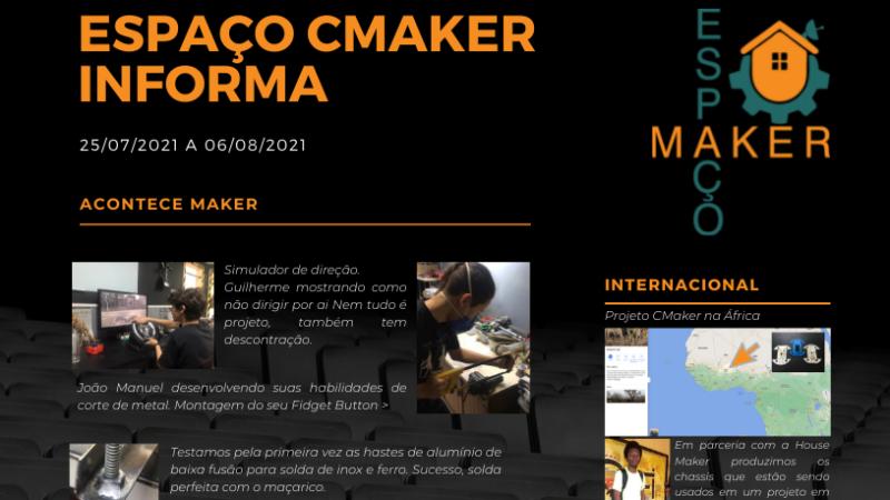 ESPAÇO CMAKER INFORMA (2021-08-06)